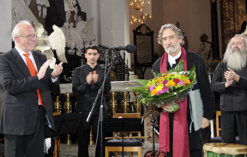 Jordi Savall rep el premi de la Léonie Sonning Music Foundation de Dinamarca