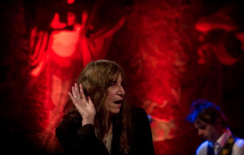 Patti Smith dinamita el Palau de la Música