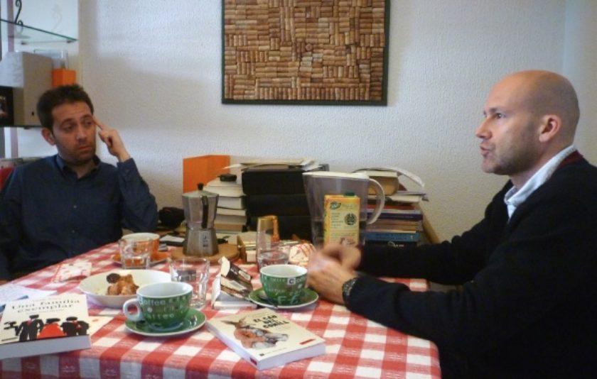 Un esmorzar íntim amb el premi Josep Pla