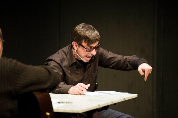 Jordi Boixaderas diu 'Lo somni', de Bernat Metge al Teatre Romea