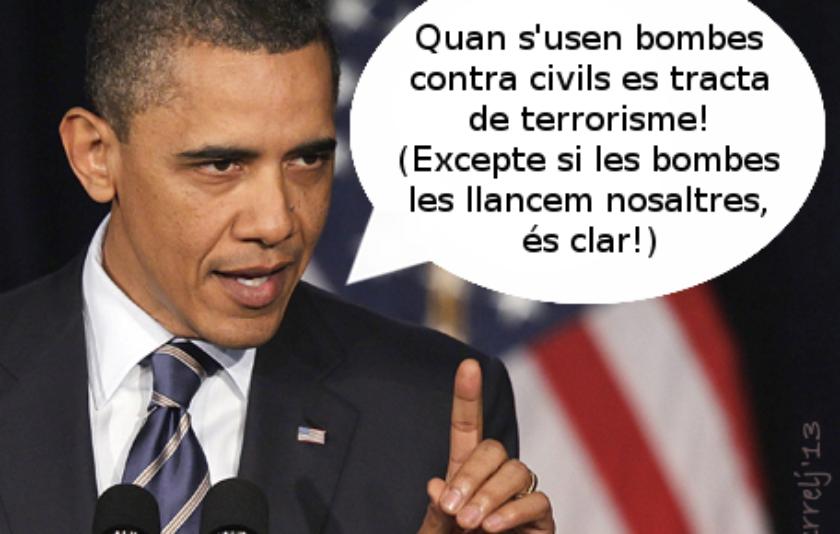 Obama i el terrorisme