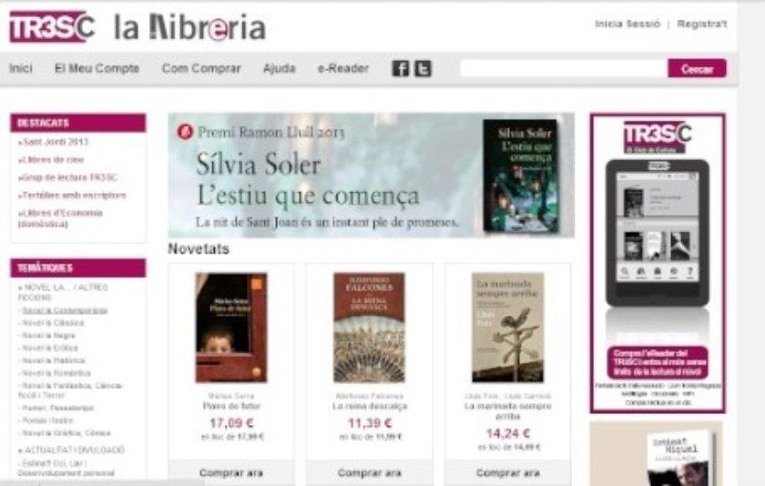 El club Tr3sc crea una llibreria virtual
