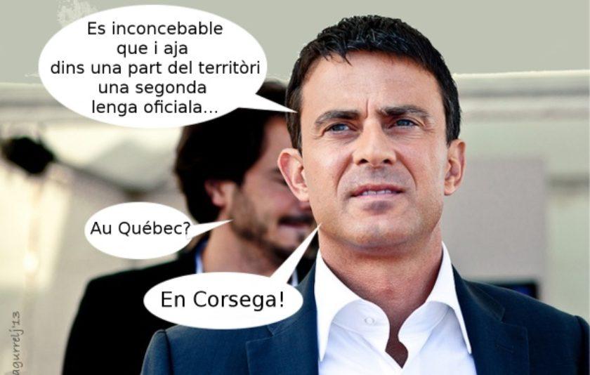 L'oficialitat de la llengua corsa