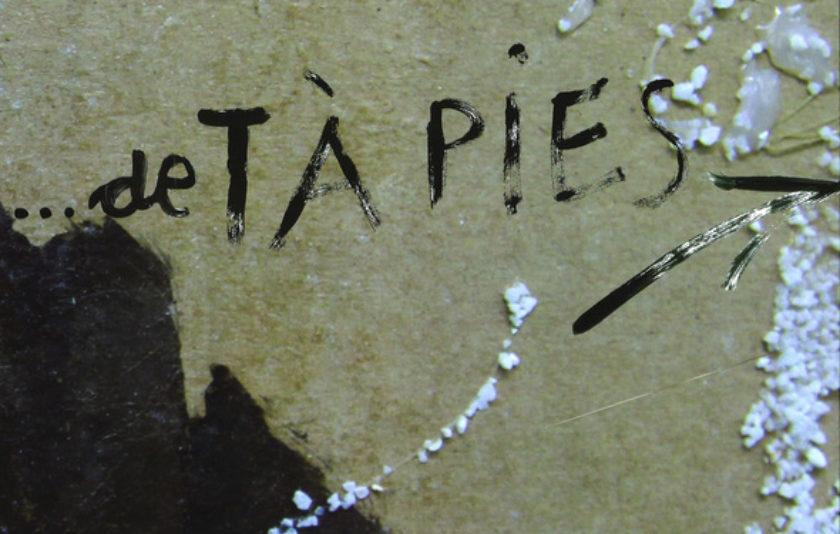 El llibre … De Tàpies, el desig de créixer amb l'art