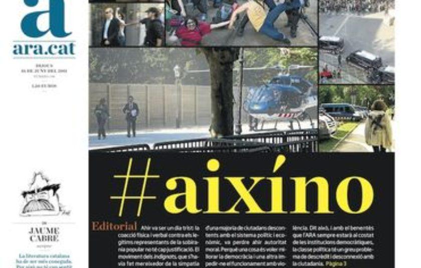 #ARA1000diaris o la Catalunya post-CT