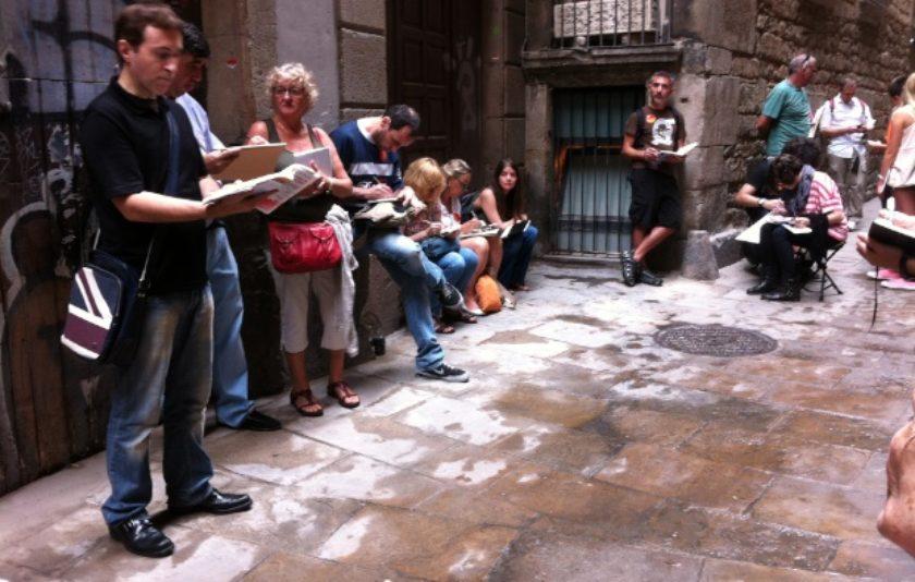 Itineraris literaris exclusius per a Sketchcrawlers a La Setmana