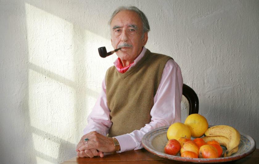 El pintor Xavier Valls i els llibres