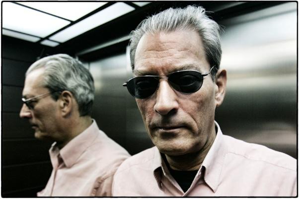 Paul Auster a Barcelona, octubre de 2008   © Pere Virgili