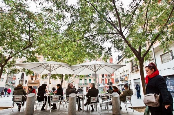 Una plaça de Gràcia | © Pere Virgili