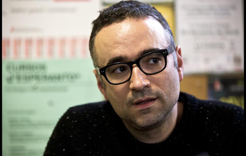 """Xavi Sarrià: """"Som joves nascuts amb consciència lingüística i tenim moltes coses a dir"""""""