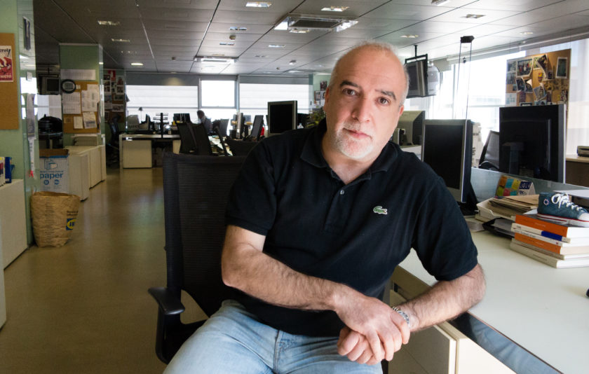 """David Airob: """"El factor humà és la clau del meu treball"""""""