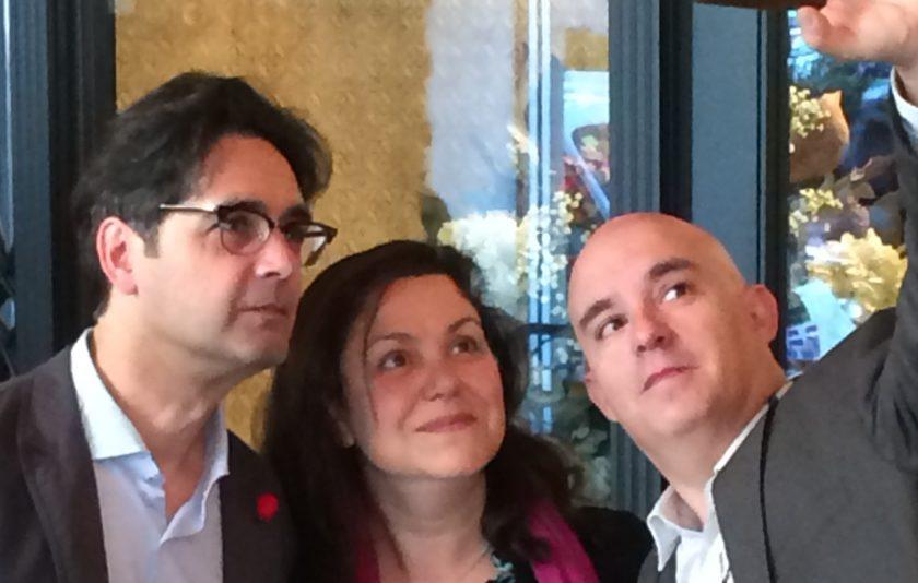 El selfie de Sant Jordi