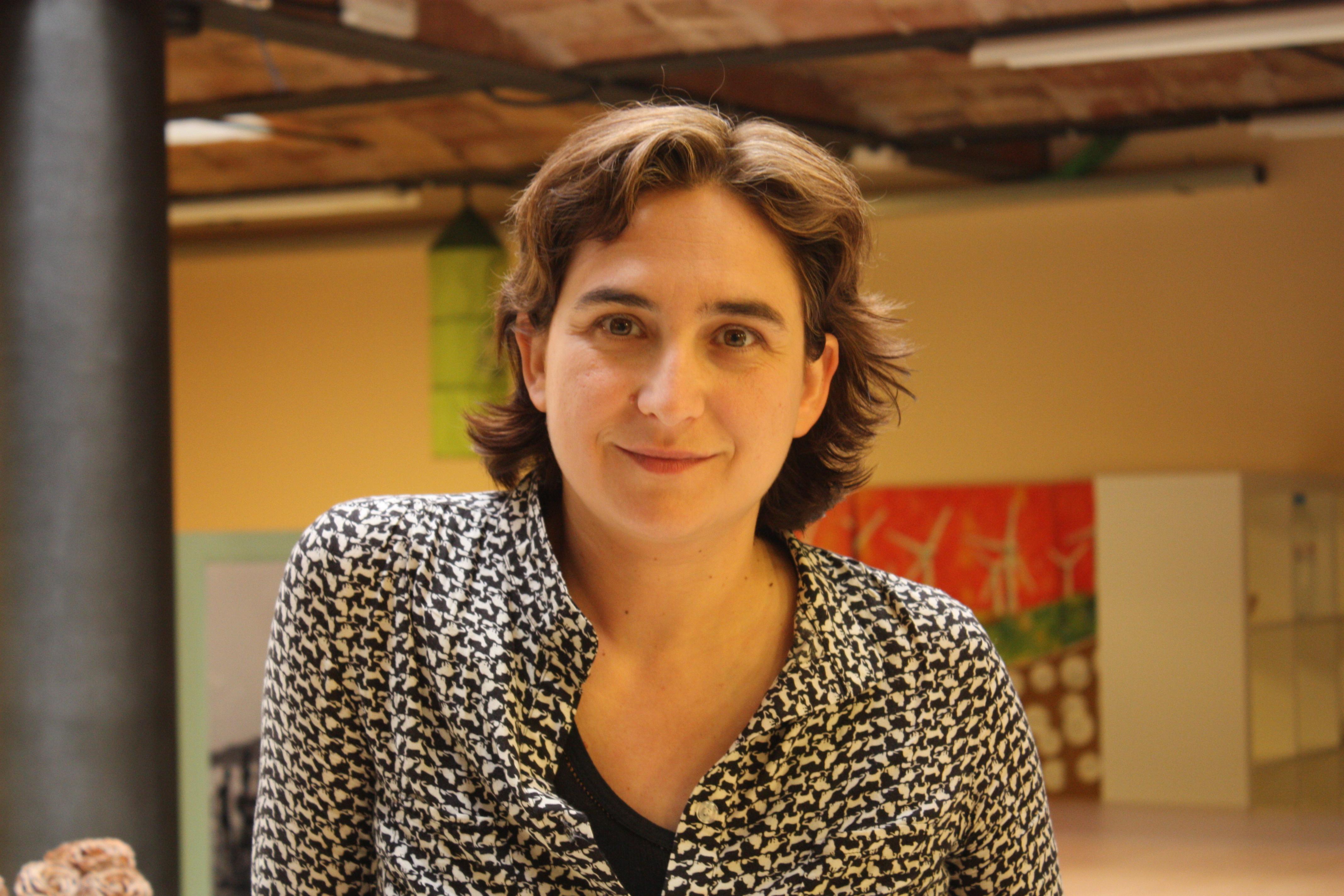 """Ada Colau participarà a la taula rodona del festival """"Stop Distòpia""""."""