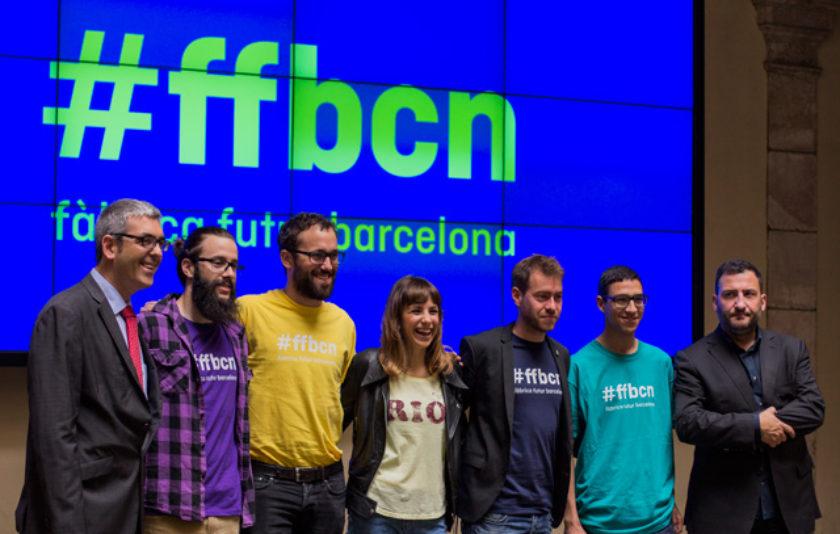 Primera presentació de la Fàbrica de Futur Barcelona