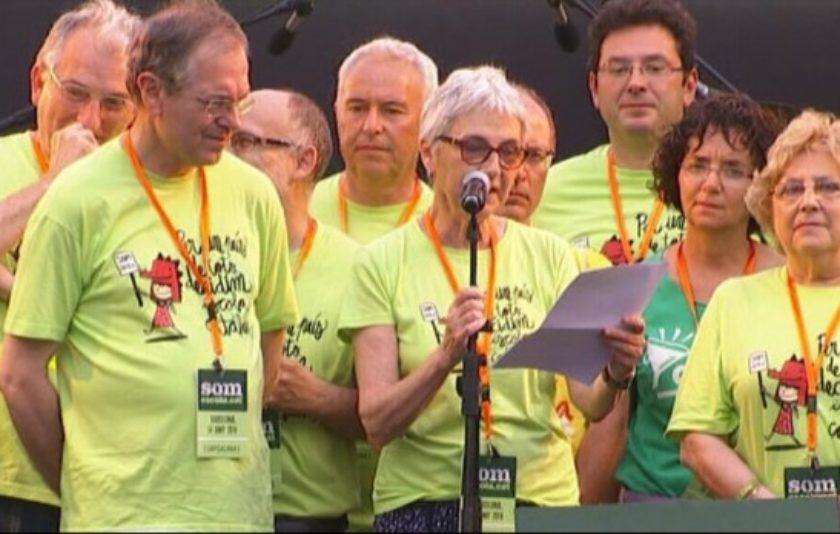 """Muriel Casals: """"Demanem a la Generalitat que apliqui la seva autoritat"""""""