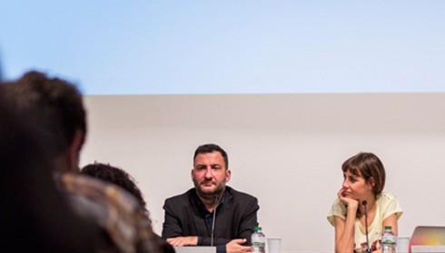 Toni Soler i Bibiana Ballbè presentant el FFBCN