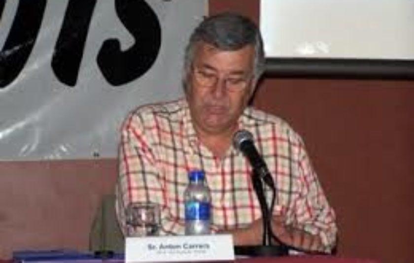 Anton Carrera, el sagrament de la pedra