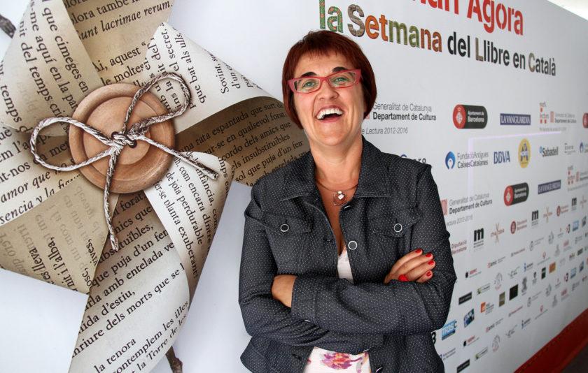 """Montse Ayats: """"La independència ha d'afavorir la lectura en català"""""""