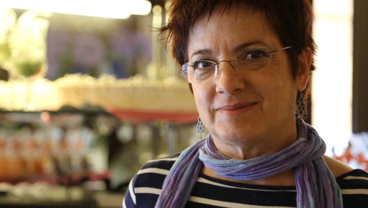 Blanca Busquets acaba de publicar 'Paraules a mitges' a la Rosa dels Vents