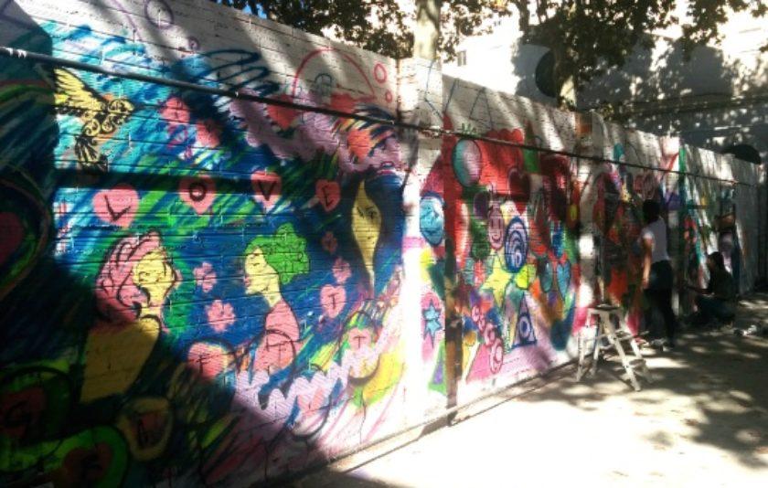 Grafitis legals amb una app