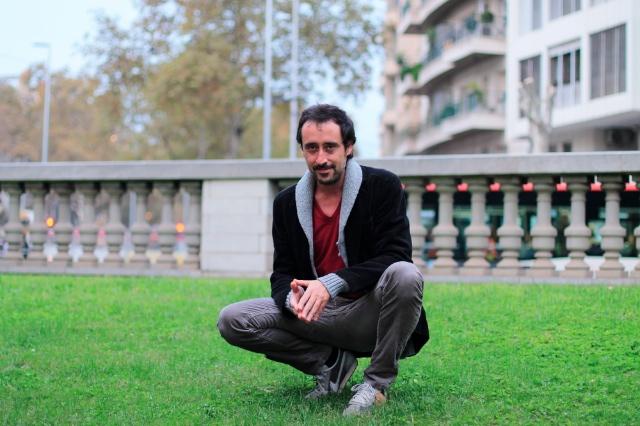 Adrià Pujol ha publicat 'Picadura de Barcelona' a Edicions Sidillà | Foto BiBi Oye/ Núvol