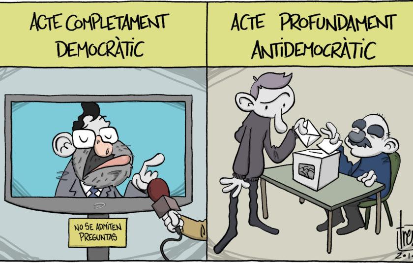 L'antidemocràcia del 9-N