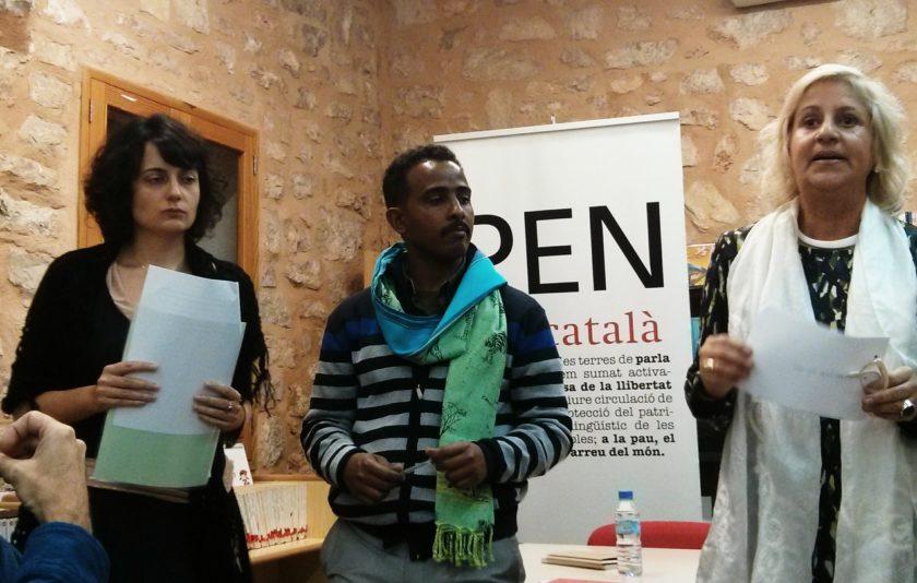 Dessale Berekhet, Vè Premi Veu Lliure del PEN Català