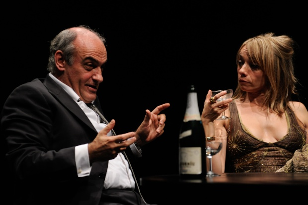 Francesc Orella i Daniela Freixas a 'El President' de Thomas Bernhard