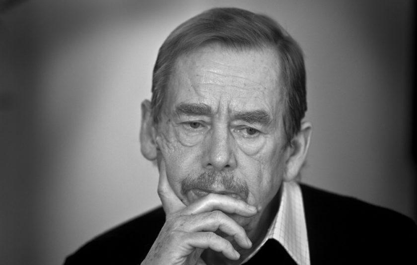 La protesta de Václav Havel