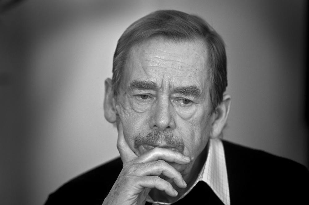 El dramaturg i polític Václav Havel (1936-2011)