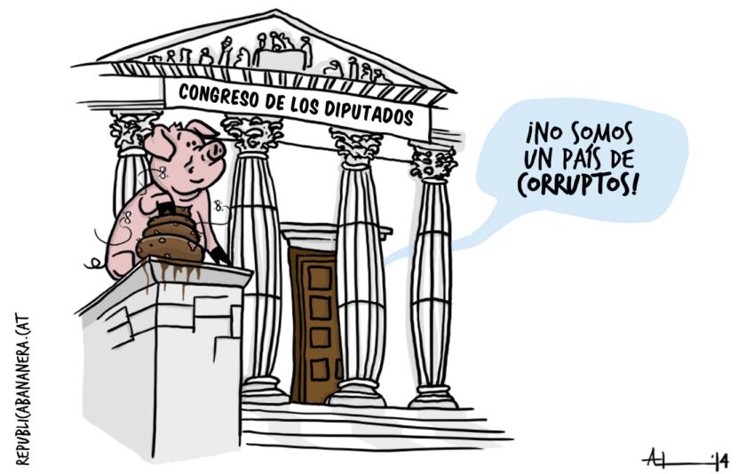 Corrupción, ¿dónde?
