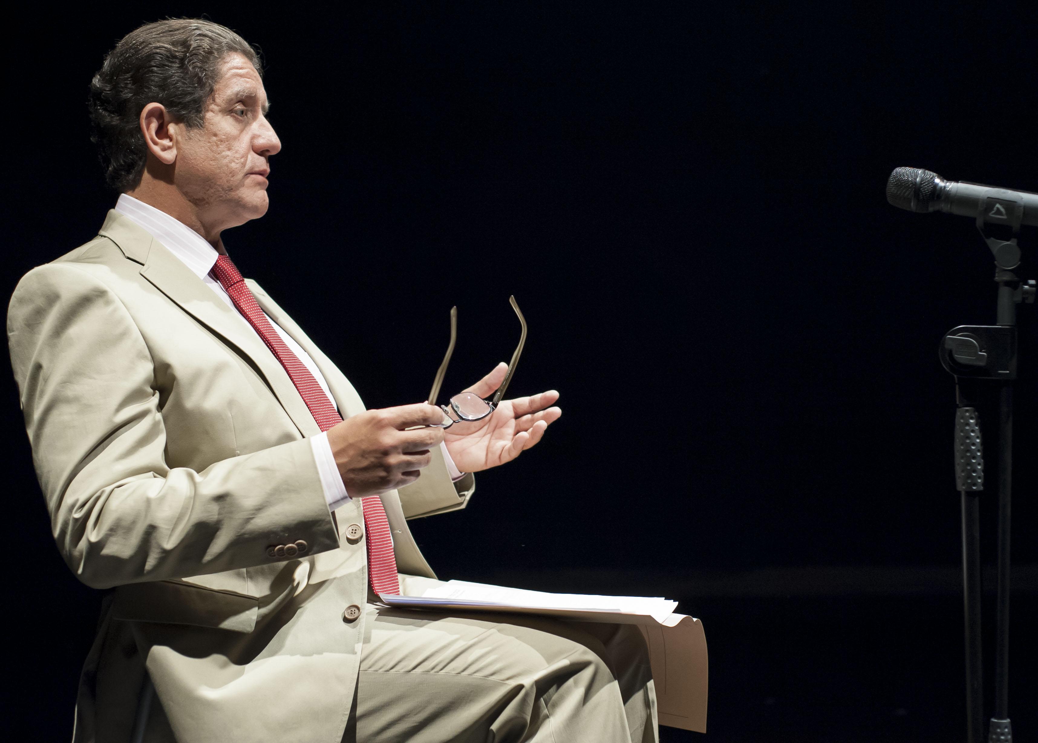 Pedro Casablanc és Luis Bárcenas © Teatro del Barrio