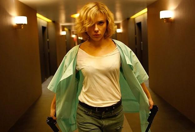 Scarlett Johansson a Lucy, de Luc Besson