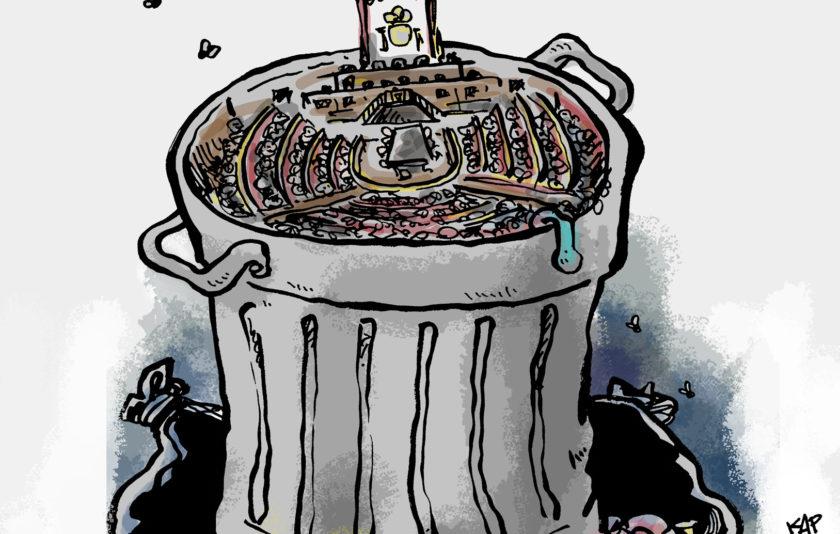 La corrupció, la xacra de la política?
