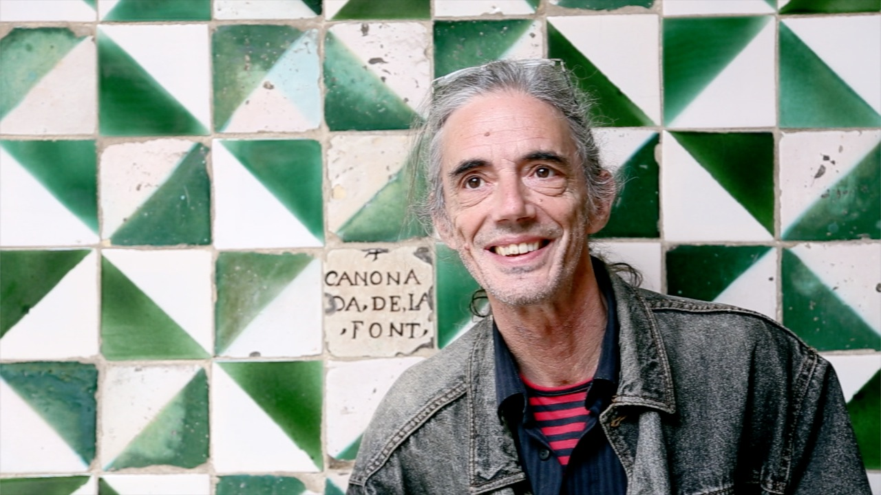 El poeta Enric Casasses   Foto de Noemí Roset.