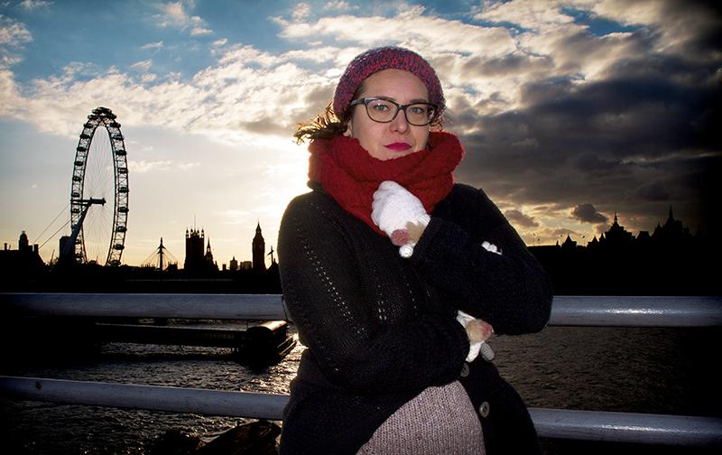 Marilia Samper Londres Foto Isaias Fanlo
