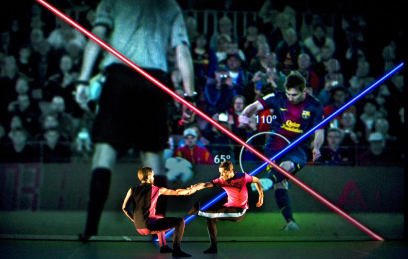 Traces sobre el Camp Nou: Foot-Ball de Cesc Gelabert