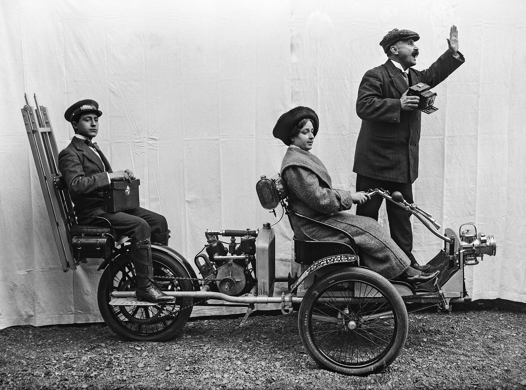 El tricicle dels Merletti | Arxiu Històric Fotogràfic IEFC