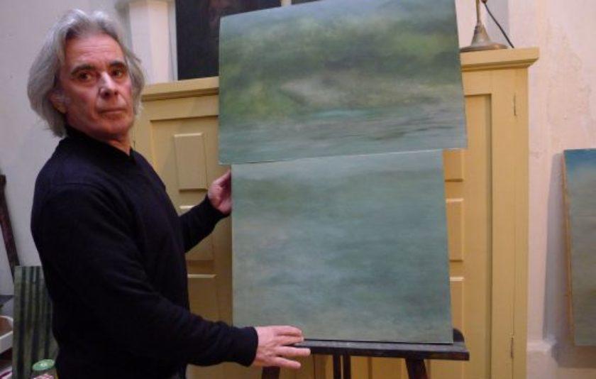 "Llorenç Femenias: ""M'agrada que la pintura vibri, que sigui espontània"""