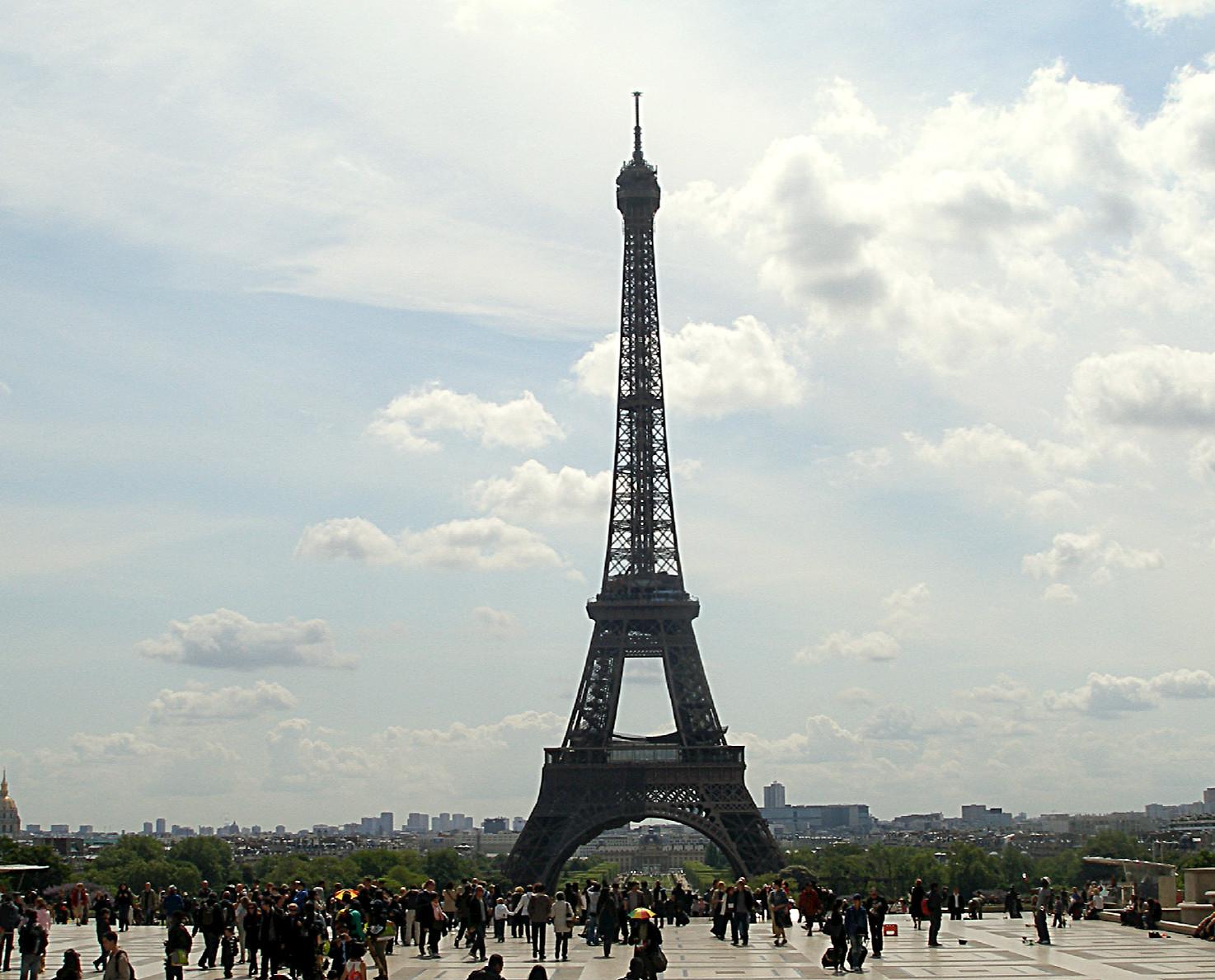 Vista de la Torre Eiffel, a París | Foto: Griselda Oliver