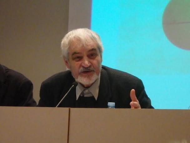 Serge Latouche | © Sagi Prat (Forum de debats)