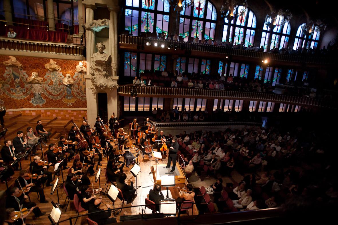 L'Orquestra Simfònica del Valles al Palau