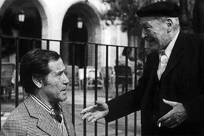 Carles Sentís amb Josep Pla, l'any 1979
