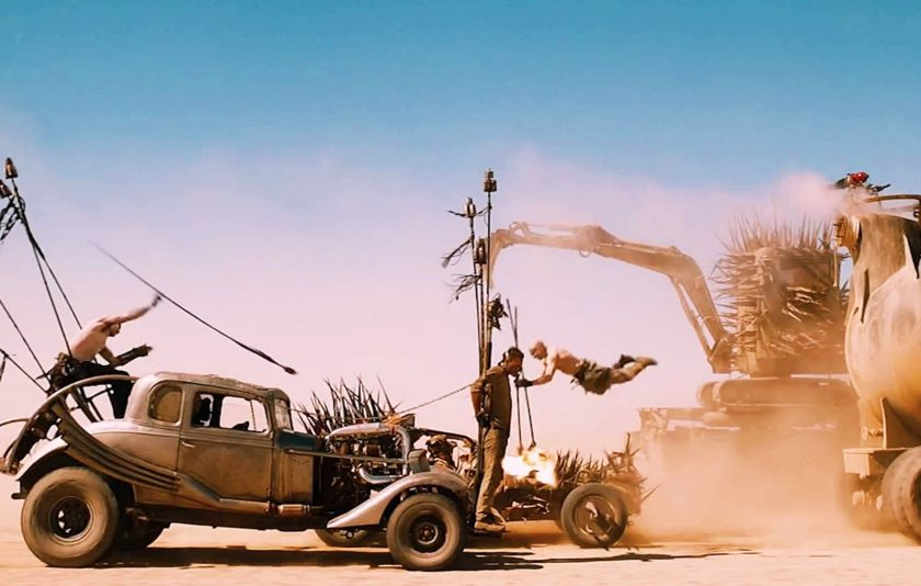 """Mad Max Fury Road"" fa tremolar Canes"