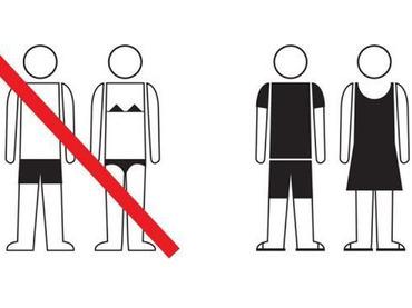 Prohibicions a la piscina