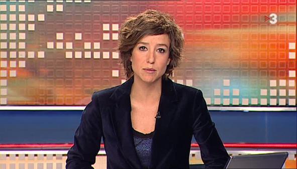 Agnès Marquès durant el Telenotícies