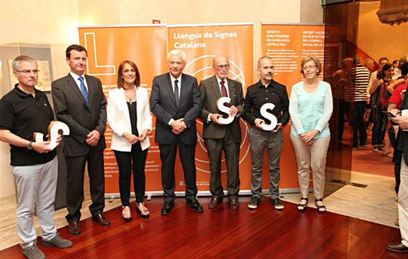 El Premi de Foment a la Llengua de Signes Catalana, un guardó compartit