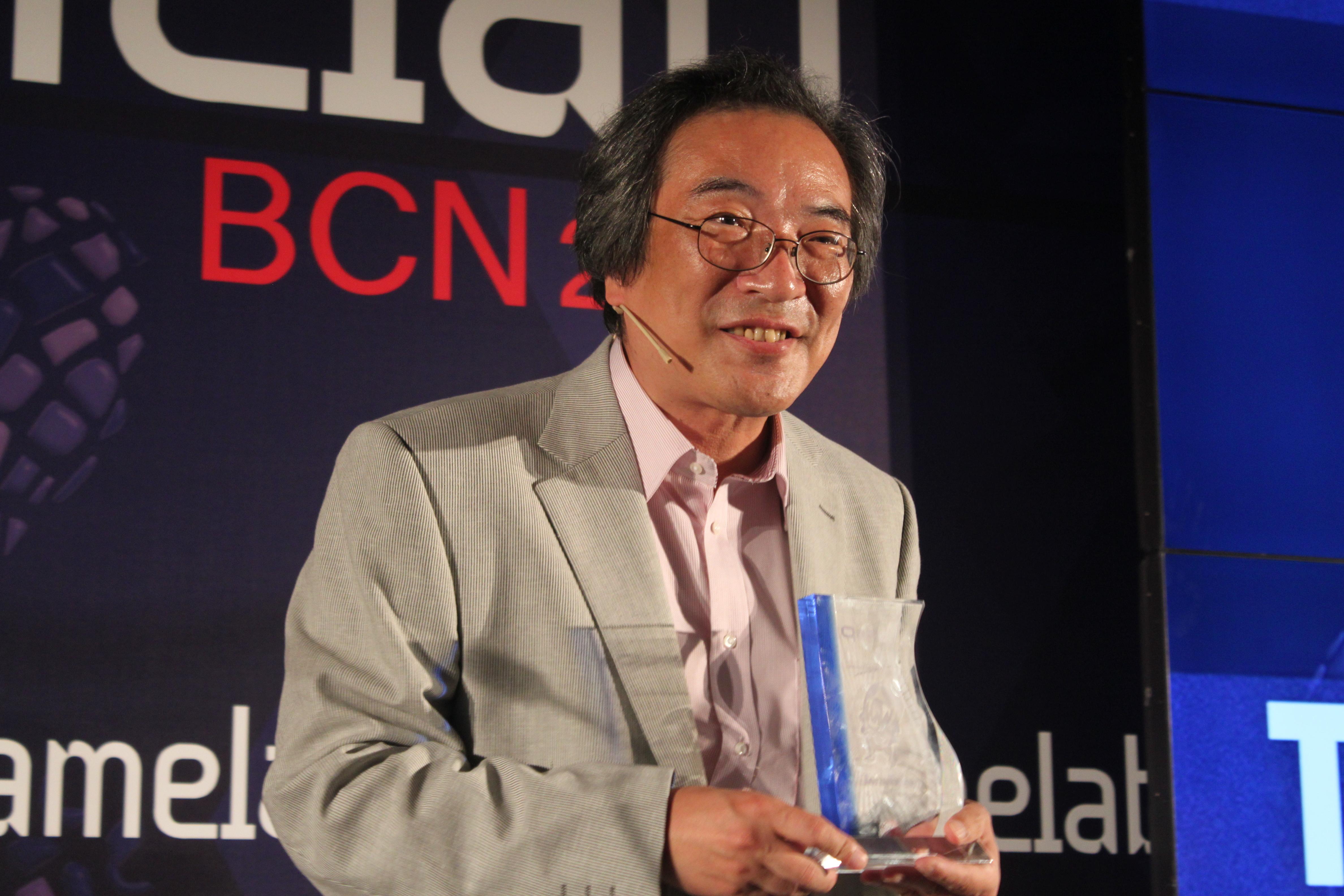 Toru Iwatani al Gamelab   Foto: Tatiana Pagà
