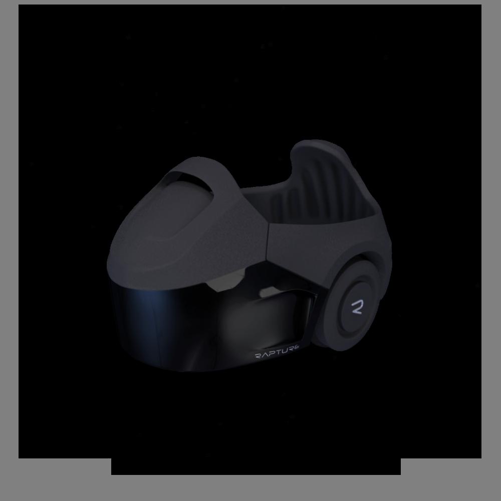 Els jugadors hauran d'usar unes ulleres com aquestes per moure's veient tots els espais amb una capa de realitat virtual. Font de la imatge: The void