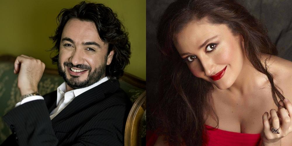 David Alegret i Maria José Montiel